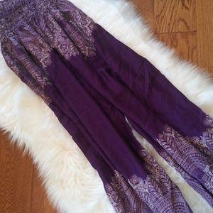Boho Vib Pants - Boho Vib women's harem pants